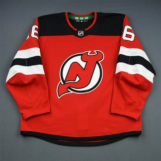 Santini, Steven Red Set 1 - Preseason Only New Jersey Devils 2018-19