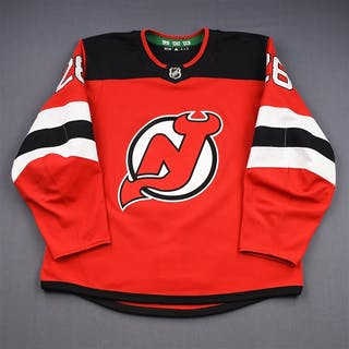 Severson, Damon Red Set 1 New Jersey Devils 2018-19 #28 Size: 56