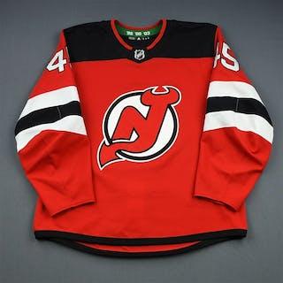 Vatanen, Sami Red Set 1 New Jersey Devils 2018-19 #45 Size: 56