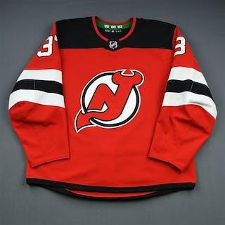 Zacha, Pavel Red Set 1 New Jersey Devils 2018-19 #37 Size: 56