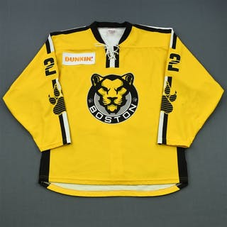 Skarupa, Haley Yellow Set 2 / Playoffs Boston Pride 2018-19 #22 Size: LG