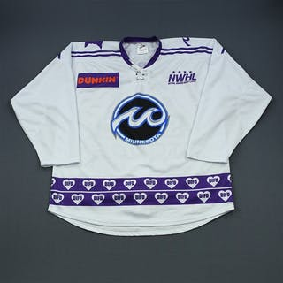 Schmid, Haylea White DIFD Warm-Up Jersey (Game-Issued) - March 2