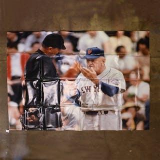 Stengel, Casey * Casey Stengel Arguing With Umpire, Gate Lobby Banner
