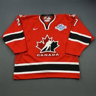 Niedermayer, Scott * Red - World Cup of Hockey Team Canada 2004 #27 Size: 56