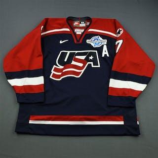 Tkachuk, Keith * Blue - World Cup of Hockey Team USA 2004 #7 Size: 58