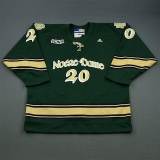 Lucyk, Luke * Green Alternate - w/A removed University of Notre Dame