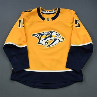 Smith, Craig Gold Set 1 Nashville Predators 2018-19 #15 Size: 56