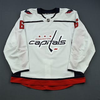 Kempny, Michal White Set 2 Washington Capitals 2018-19 #6 Size: 56