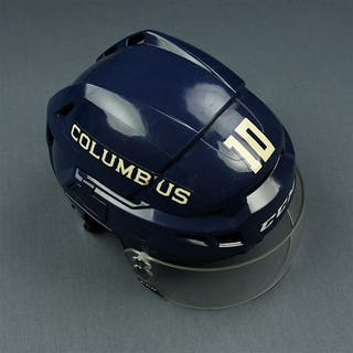Wennberg, Alexander Blue Third, CCM Helmet w/ CCM Shield Columbus