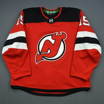 Lappin, Nick Red Set 1 New Jersey Devils 2018-19 15 Size: 56