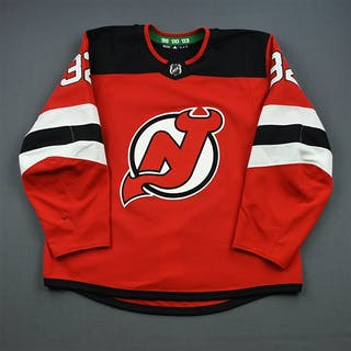 Murphy, Ryan Red Set 1 New Jersey Devils 2018-19 #32 Size: 56