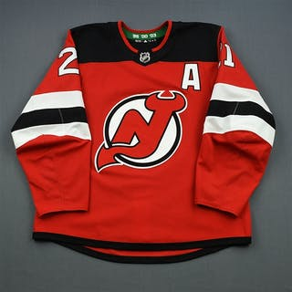 Palmieri, Kyle Red Set 2 w/A New Jersey Devils 2018-19 #21 Size: 54