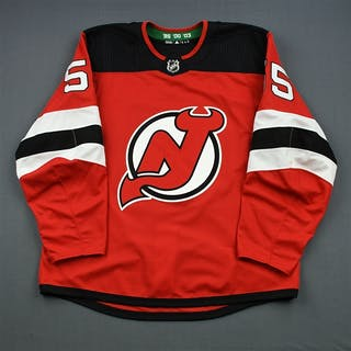 Ramage, John Red Set 1 - Game-Issued (GI) New Jersey Devils 2018-19