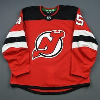 Vatanen, Sami Red Set 3 New Jersey Devils 2018-19 #45 Size: 56
