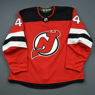 Wood, Miles Red Set 3 New Jersey Devils 2018-19 #44 Size: 58