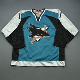 Murphy, Joe * Alternate - Autographed San Jose Sharks 1997-98 #17 Size: 54