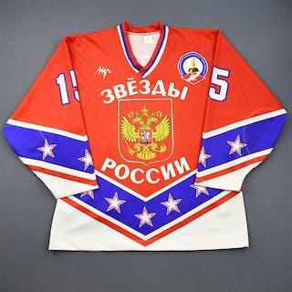 Korolyuk, Alexander * Red - Autographed Team Russia #15 Size: XXL