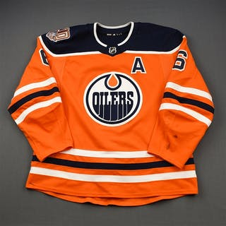 Larsson, Adam Orange Set 3 w/A, w/ 40th Anniversary Patch Edmonton