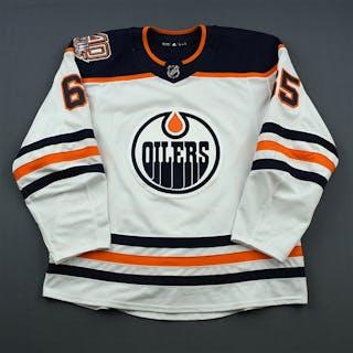 Marody, Cooper White Set 1 w/ 40th Anniversary Patch Edmonton Oilers
