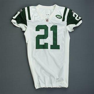 Tomlinson, LaDainian * White - worn 11/13/2011 vs. New England Patriots