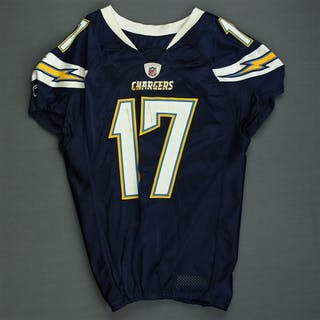 Rivers, Philip * Navy - worn 10/3/10 vs. Arizona Cardinals - Photo-Matched