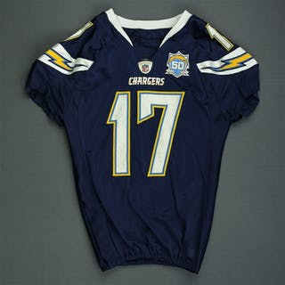 Rivers, Philip * Navy - worn 1/17/10 vs. NY Jets in AFC Divisional