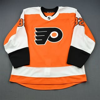 Bunnaman, Connor Orange Set 1 - Game-Issued (GI) Philadelphia Flyers