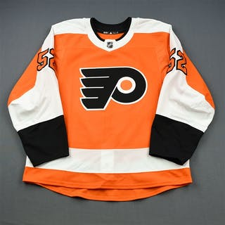 Carey, Greg Orange Set 1 - Game-Issued (GI) Philadelphia Flyers 2018-19
