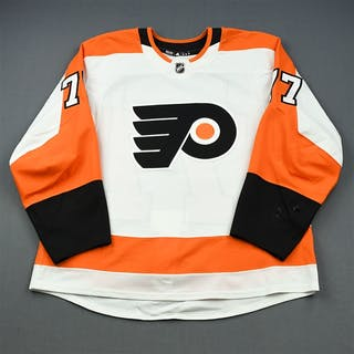 de Haas, James White Set 1 - Preseason Only Philadelphia Flyers 2018-19