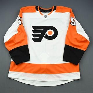 Fazleev, Radel White Set 1 - Game-Issued (GI) Philadelphia Flyers
