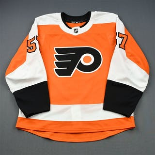 Kase, David Orange Set 1 - Game-Issued (GI) Philadelphia Flyers 2018-19
