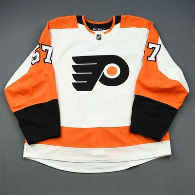 Kase, David White Set 1 - Game-Issued (GI) Philadelphia Flyers 2018-19