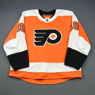 Knight, Corban Orange Set 2 - Game-Issued (GI) Philadelphia Flyers