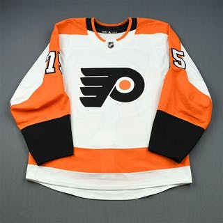 Laberge, Pascal White Set 1 - Game-Issued (GI) Philadelphia Flyers