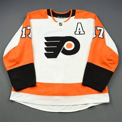 Simmonds, Wayne White Set 2 w/A Philadelphia Flyers 2018-19 #17 Size: 56