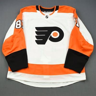 Twarynski, Carsen White Set 2 - Game-Issued (GI) Philadelphia Flyers
