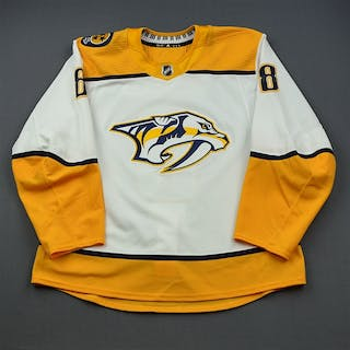 Turris, Kyle White Set 3 / Playoffs Nashville Predators 2018-19 #8 Size: 56