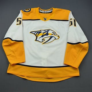 Watson, Austin White Set 2 / Playoffs Nashville Predators 2018-19 #51 Size: 58