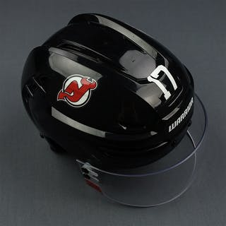 Agostino, Kenny Black, Bauer Warrior w/ Oakley Shield New Jersey Devils
