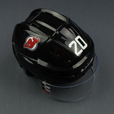 Coleman, Blake Black, Bauer Helmet w/ Bauer Shield New Jersey Devils