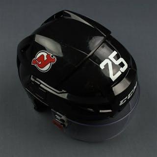 Mueller, Mirco Black, CCM Helmet w/ Oakley Shield New Jersey Devils