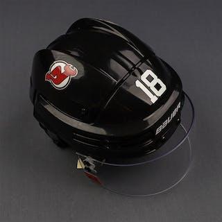 Stafford, Drew Black, Bauer Helmet w/ Oakley Shield New Jersey Devils