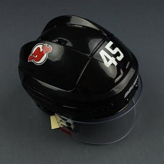 Vatanen, Sami Black, Back Helmet w/ Oakley Shield New Jersey Devils