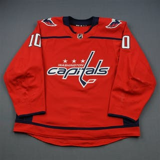 Connolly, Brett Red Set 3 / Playoffs Washington Capitals 2018-19 #10 Size: 56