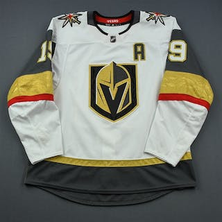 Smith, Reilly White Stanley Cup Playoffs w/A Vegas Golden Knights