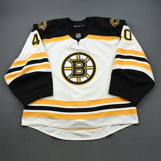 Rask, Tuukka White Set 1 Boston Bruins 2018-19 #40 Size: 60G