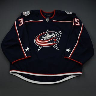 Berube, J-F Blue Set 1 - Preseason Only Columbus Blue Jackets 2018-19