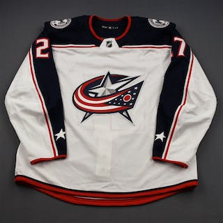 Murray, Ryan White Set 3 - Game-Issued (GI) Columbus Blue Jackets