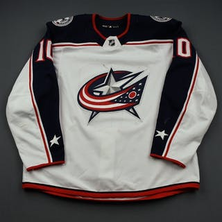 Wennberg, Alexander White Set 2 Columbus Blue Jackets 2018-19 #10 Size: 56