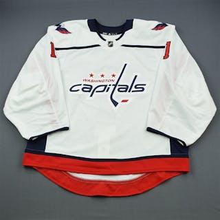 Copley, Pheonix White Set 1 - Game-Issued (GI) Washington Capitals